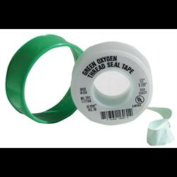 "1/2"" x 520"" High Density Green PTFE Tape (Oxygen) 4 mil (1.2 density)"