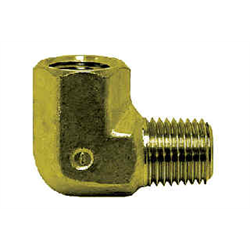 Pipe Fittings - 90* Brass Street Elbow