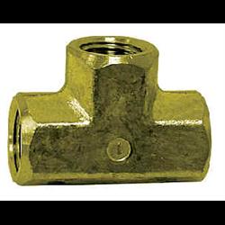 Pipe Fittings - Brass 3 Way Tee