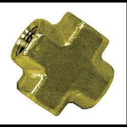 Pipe Fittings - Brass Cross